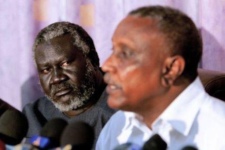 Malik Agar Sudan Governor in Border State Warns of Possible