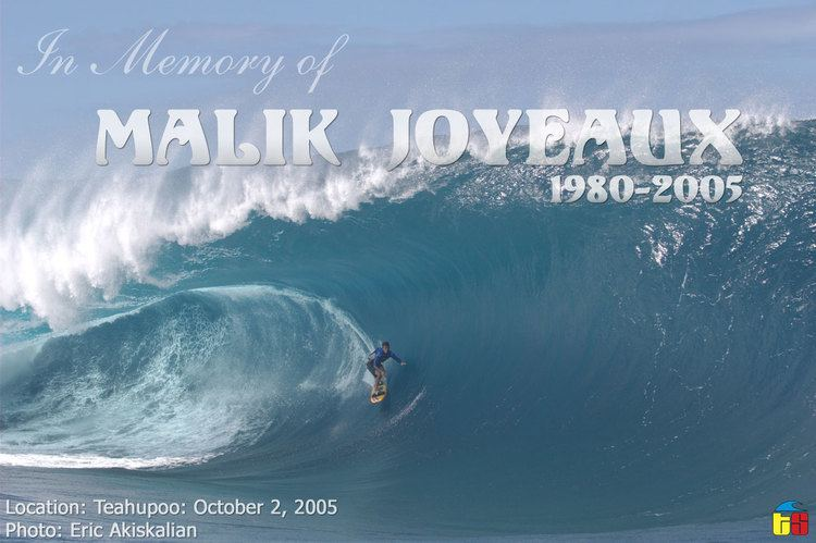 Malik Joyeux surfersvillagecom RIP Malik Joyeux from Tahiti dies