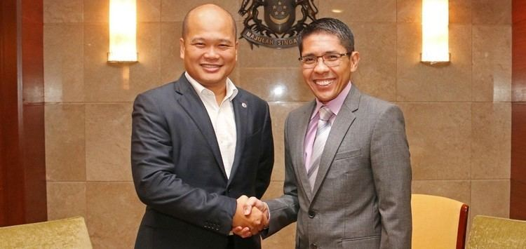 Maliki Osman Meeting between Senior Minister of State Ministry of Defence and