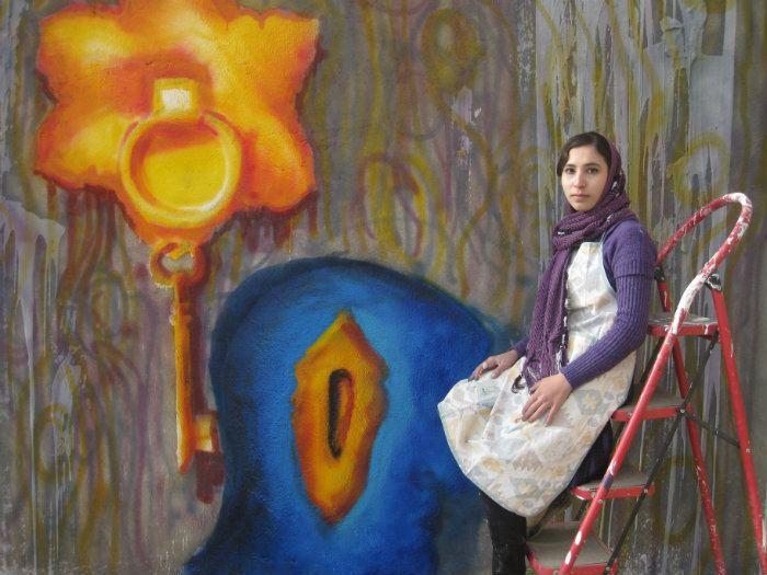 Malina Suliman Malina Suliman Street Art in Afghanistan In Plainspeak