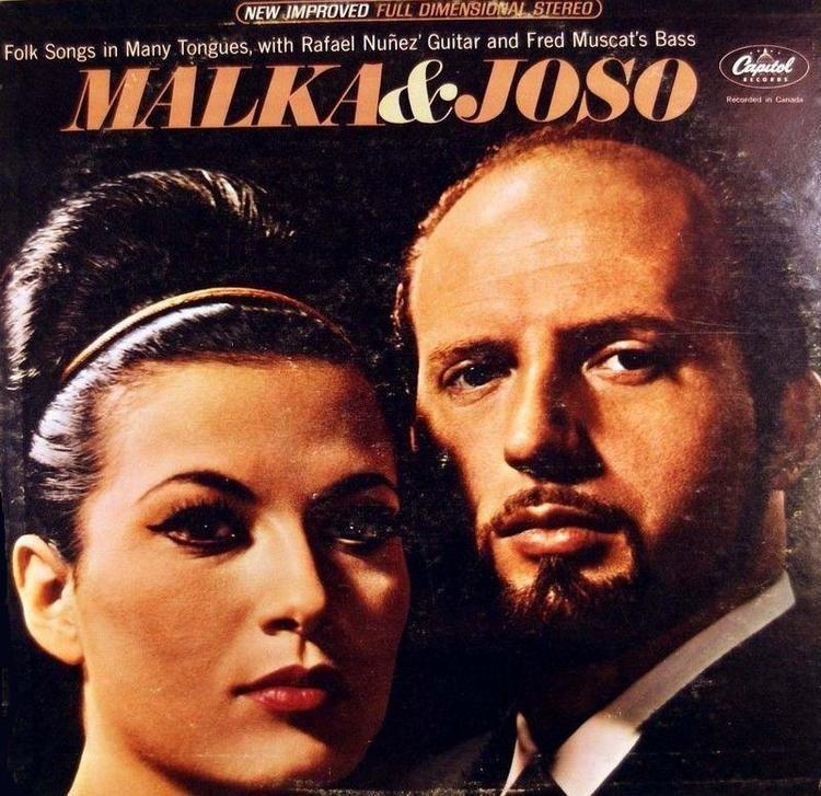 Malka Marom Malka Marom from Israel and Joso Spralja from Croatia singing