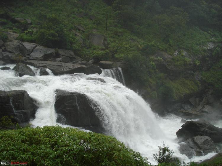 Mallalli Falls Weekend trip to Mallalli Falls TeamBHP