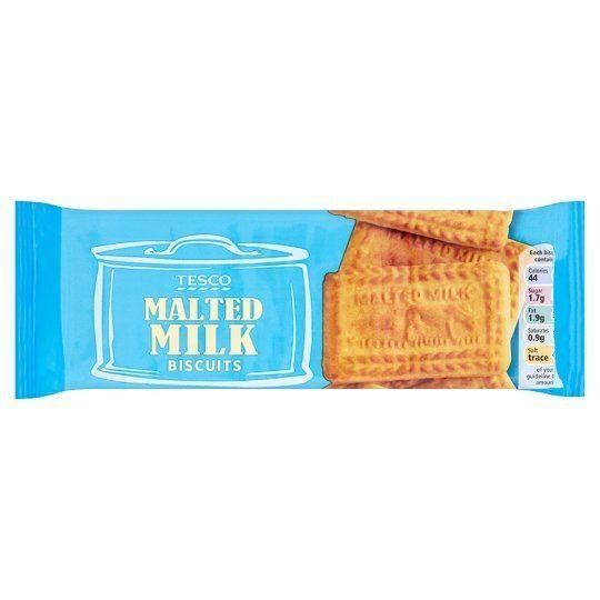 Malted milk (biscuit) Tesco Malted Milk Biscuits 200G Groceries Tesco Groceries