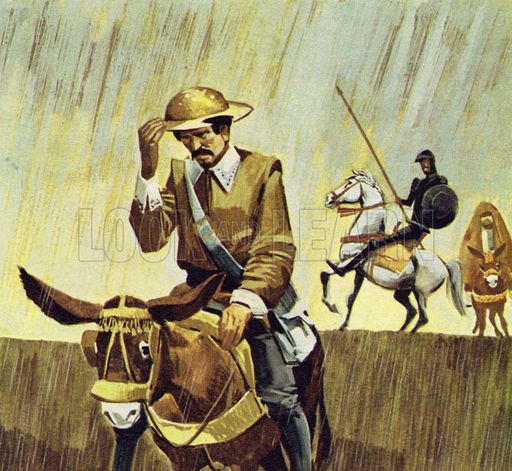 Mambrino Quixote mistook a barber39s hat for the helmet of Mambrino Look and