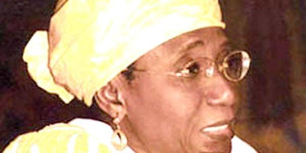 Mame Madior Boye Portrait de Mme Mame Madior Boye Centre dInformations et de
