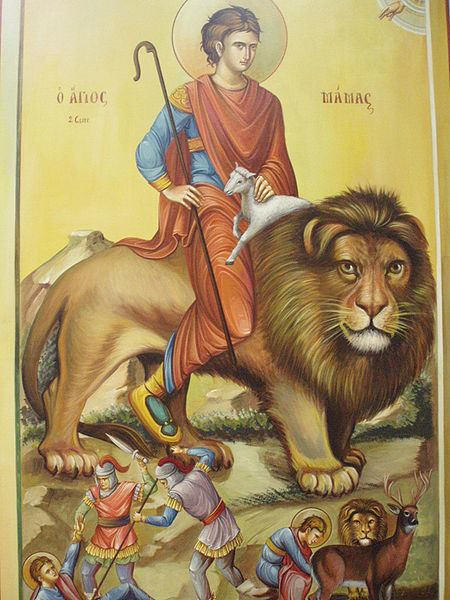Mammes of Caesarea Simply Orthodox Saint Mammes of Caesarea