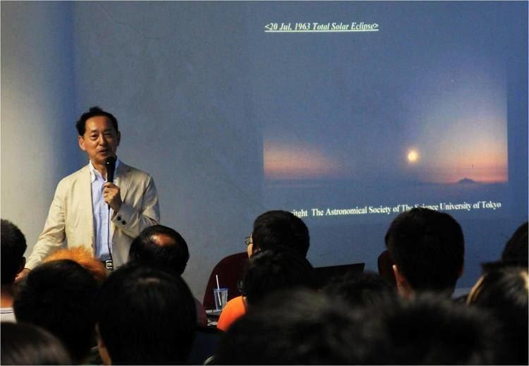 Mamoru Mohri Talk Summary by Dr Mamoru Mohri the First Japanese