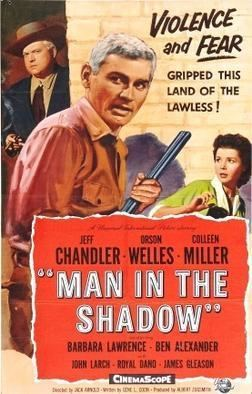 Man in the Shadow Man in the Shadow 1957 American film Wikipedia