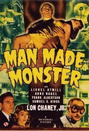 Man Made Monster 31 Days of Halloween Day 26 Man Made Monster 1941 Monster