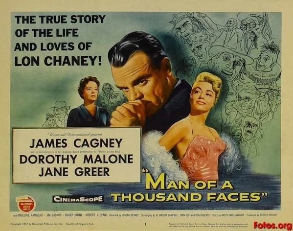 Man of a Thousand Faces movie scenes PEVNEY 1957 Man of A Thousand Man of a Thousand