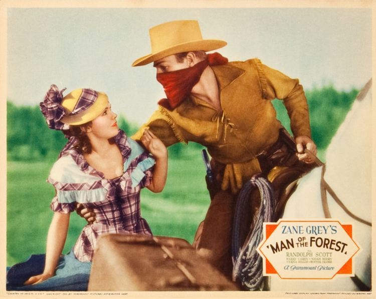 Man of the Forest Man of the Forest 1933