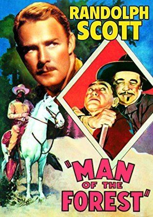 Man of the Forest Amazoncom Man of the Forest Randolph Scott Verna Hillie Harry