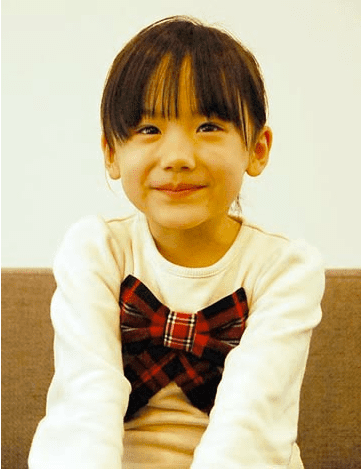 Mana Ashida Young Child Actress of Drama Mother Publishes First Book