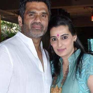 Mana Shetty A Sneak Peak at Suniel And Mana Shetty39s New Decor Store R