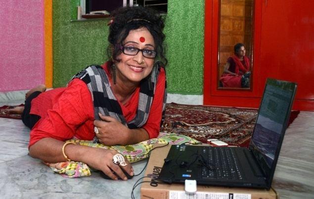 Manabi Bandyopadhyay Transgender at the top Frontline