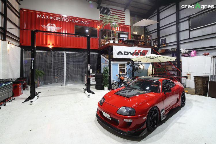 Manabu Orido MOridos car Racing driver TOYOTA SUPRA JZA80 areaAgnes