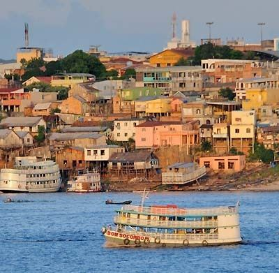 Manaus wwwworldatlascomtwittersatripmanaushillhouse