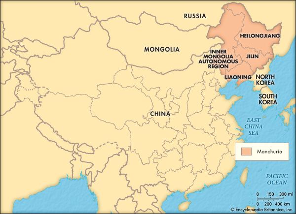 Manchuria Manchuria historical region China Britannicacom