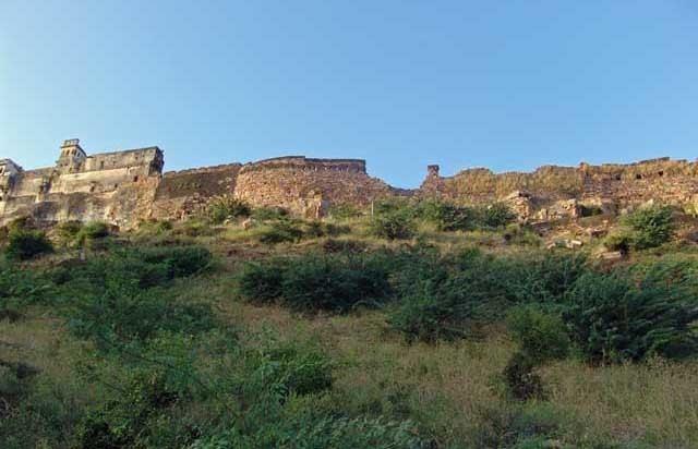Mandalgarh in the past, History of Mandalgarh