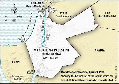Mandatory Palestine Mandate For Palestine The Legal Aspects of Jewish Rights
