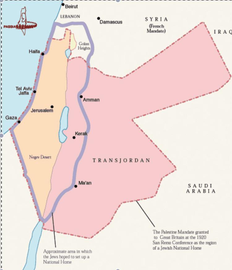 Mandatory Palestine British and Mandatory Palestine Whose Water Is It Anyway