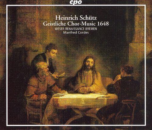 Manfred Cordes Schtz Geistliche ChorMusic 1648 Manfred Cordes Credits AllMusic