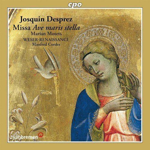 Manfred Cordes WeserRenaissance Bremen Manfred Cordes Desprez Missa Ave Maris