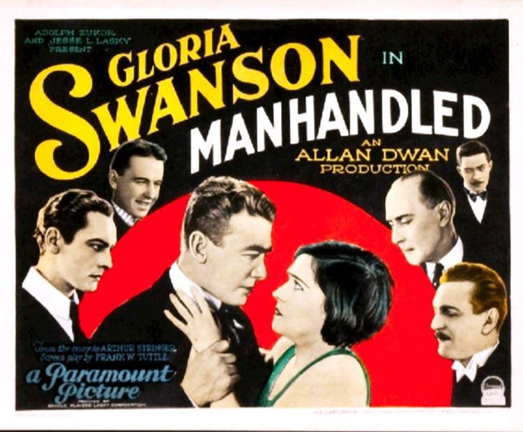 Manhandled (1924 film) Manhandled 1924 film Wikipedia