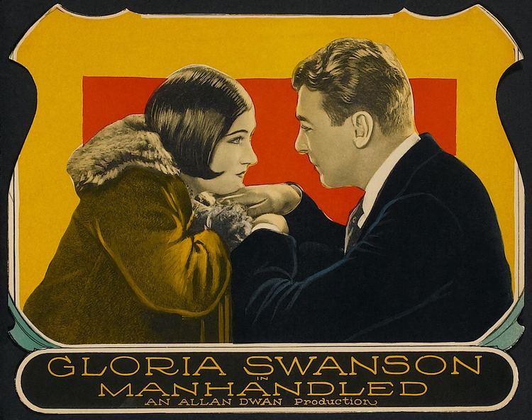 Manhandled (1924 film) Manhandled 1924