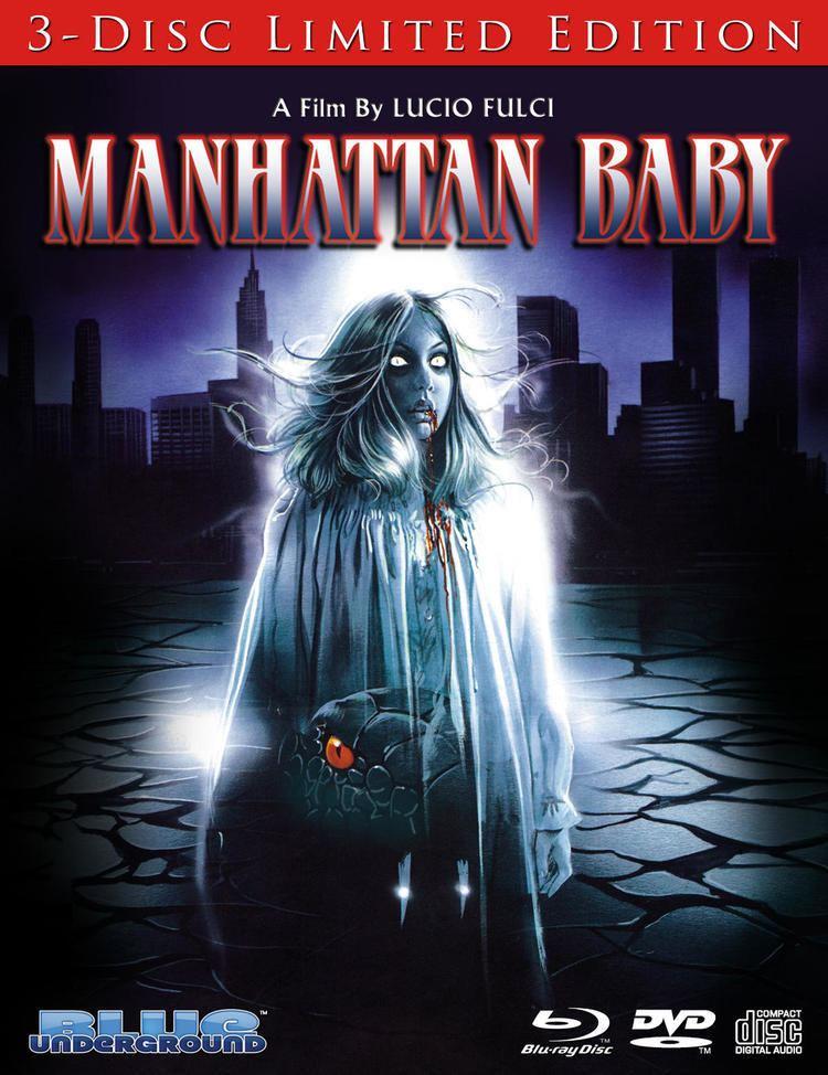 Manhattan Baby Lucio Fulcis MANHATTAN BABY Bluray DVD Release Details Cover