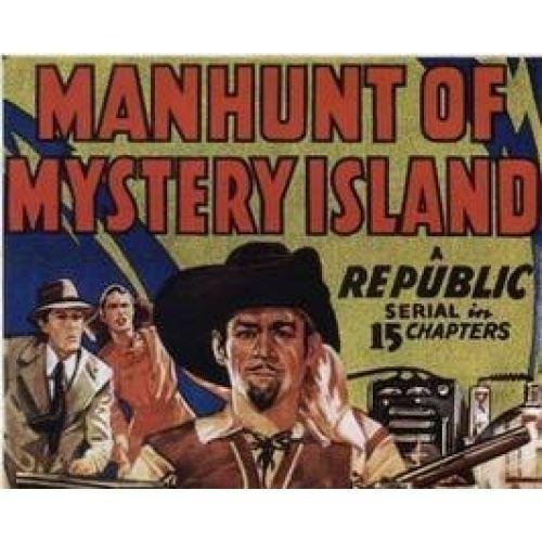Manhunt of Mystery Island Richard Bailey