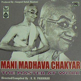 Mani Madhava Chakyar: The Master at Work (film) movie poster