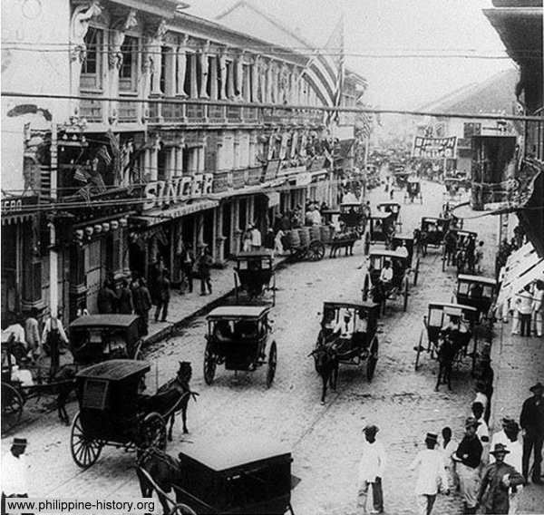Manila in the past, History of Manila