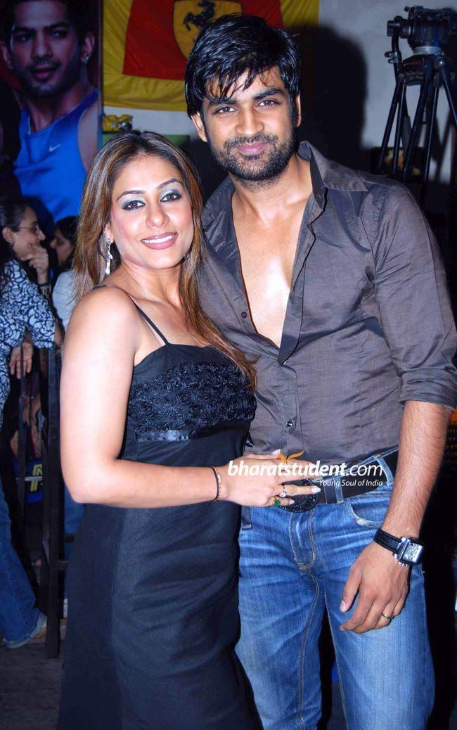 Manish Goel Poonam Narula amp Manish GoelZara Nachke Dikha Launch Party