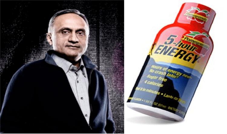 Manoj Bhargava 5Hour Energy owner Manoj Bhargava is the richest Indian