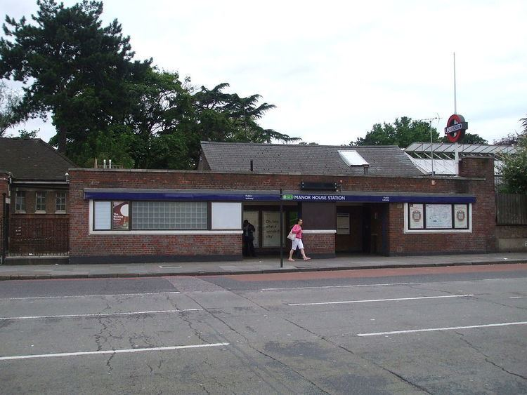 Manor House tube station