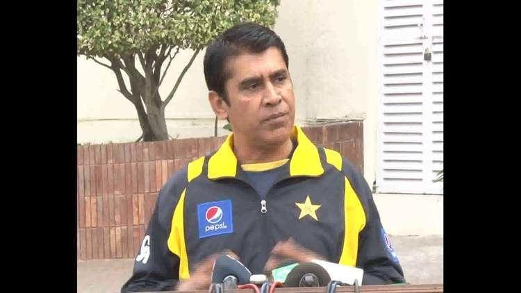 Mansoor Rana Coach Pakistan A Media talk at Gaddafi Stadium Lahore