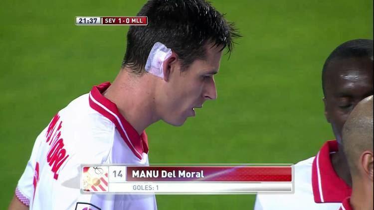 Manu del Moral Gol de Manu del Moral 10 en el Sevilla FC RCD Mallorca HD