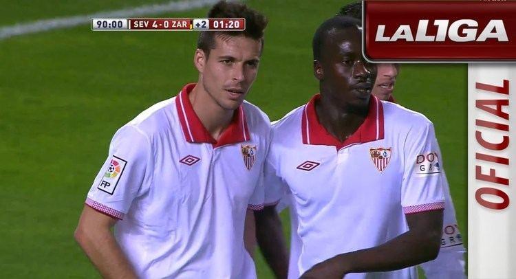 Manu del Moral Gol de Manu del Moral 40 en el Sevilla FC Real Zaragoza HD