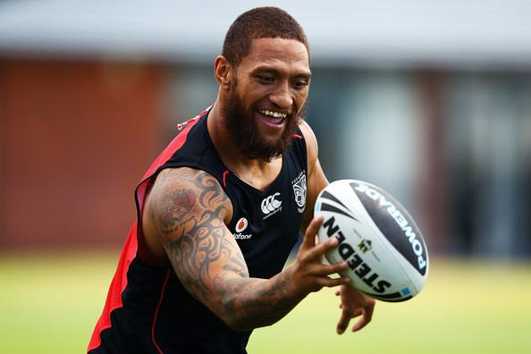 Manu Vatuvei Manu Vatuvei Pictures New Zealand Warriors Training