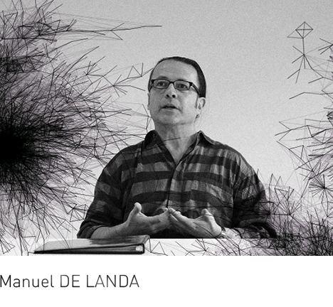 Manuel DeLanda suckerPUNCH lecture Manuel DE LANDAsuckerPUNCH