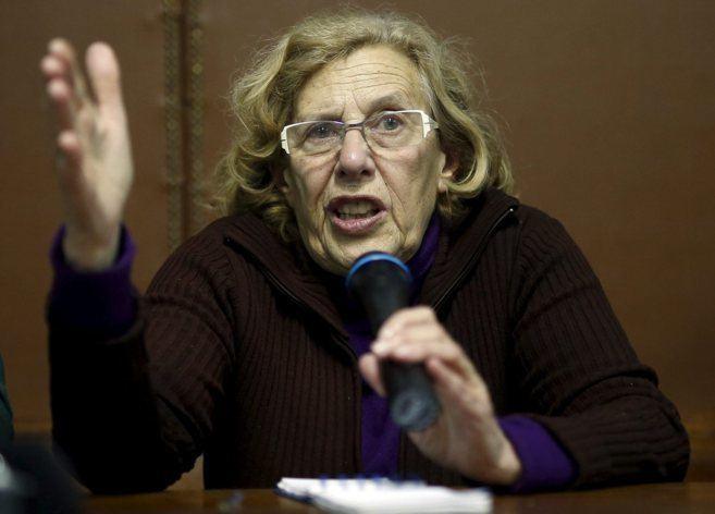 Manuela Carmena Manuela Carmena candidata de Ahora Madrid a la alcalda