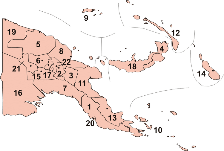 Manus Province in the past, History of Manus Province