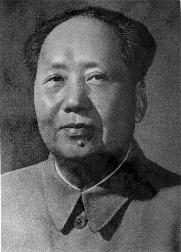 Mao Zedong DeviantArt More Like Mao Zedong portrait by