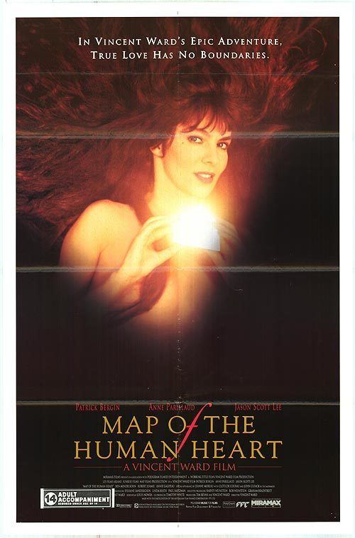 Map of the Human Heart Map of the Human Heart movie posters at movie poster warehouse