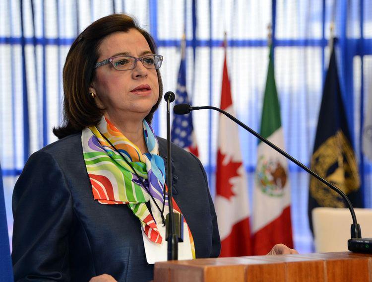 María Leoba Castañeda Rivas Leoba Castaeda una administracin plena de autoritarismo