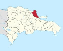 María Trinidad Sánchez Province Mara Trinidad Snchez Province Simple English Wikipedia the free