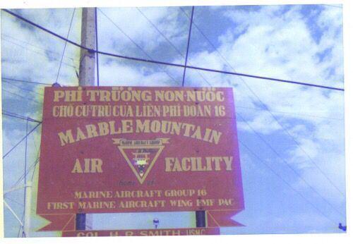 Marble Mountain Air Facility 1st Marine AirCraft group MARBLE MOUNTAIN AIR FACILITY 5km SE of