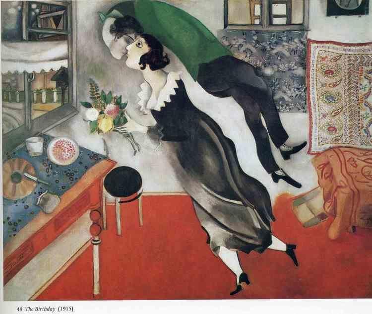 Marc Chagall Birthday by Marc Chagall a brief history on ArtEx