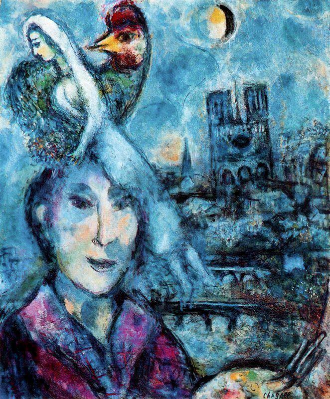 Marc Chagall SelfPortrait Marc Chagall WikiArtorg